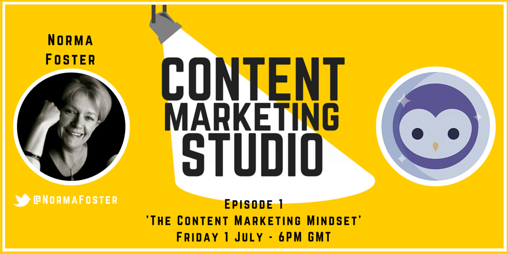 Content Marketing Studio Blab Show with Norma Foster