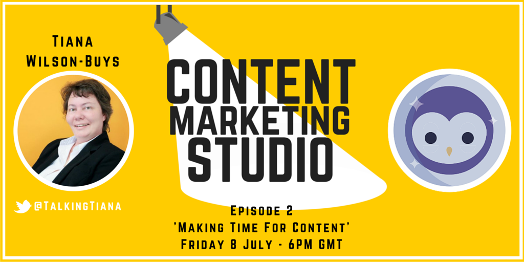 Content Marketing Studio Blab Show with Tiana Wilson-Buys