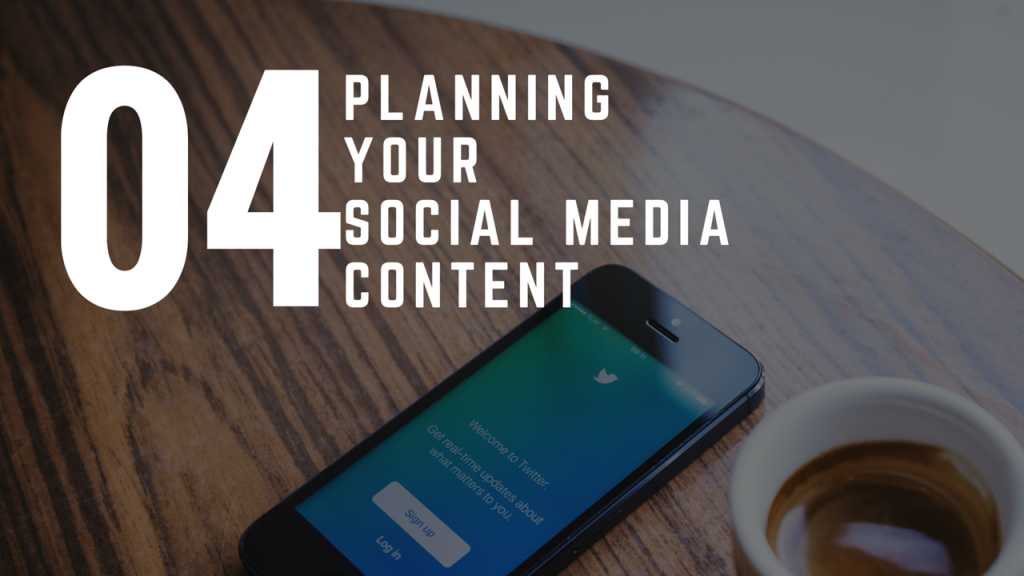 How To Plan Your Social Media Marketing Content