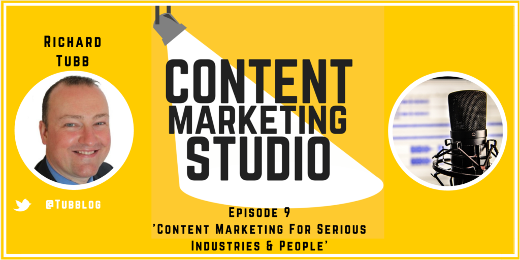 Photo ofRichard Tubb on The Content Marketing Studio Show