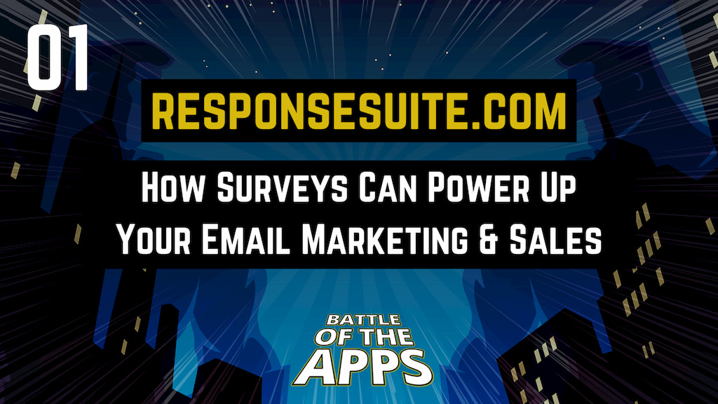 RESPONSESUITE.COM – How Surveys Can Power Up Your Email Marketing & Sales
