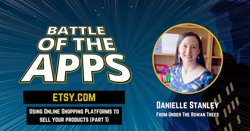 Danielle Stanley from Under The Rowan Trees on Battle of the Apps with Pascal Fintoni
