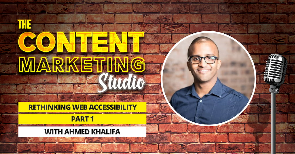 Ahmed Khalifa from Hear Me Out [CC} on The Content Marketing Studio with Pascal Fintoni