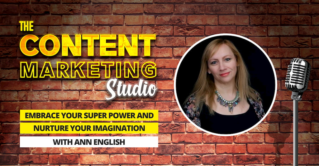 Ann English The Visual Communicator on The Content Marketing Studio with Pascal Fintoni
