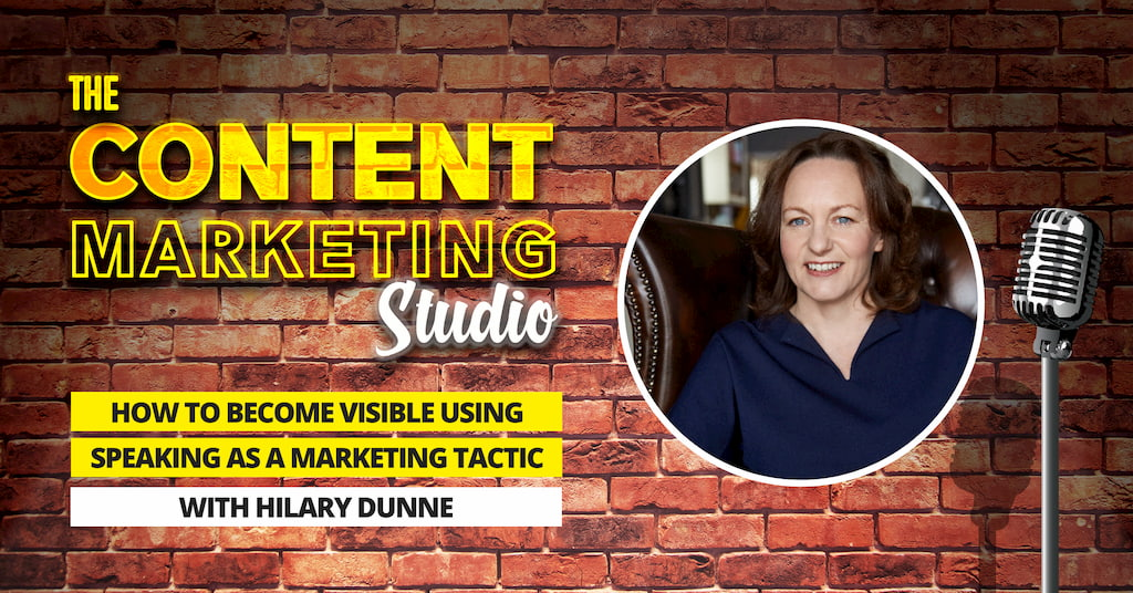 Hilary Dunne from The Brand Activators onThe Content Marketing Studio with Pascal Fintoni