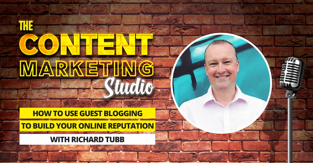 Richard Tubb from Tubblog on The Content Marketing Studio with Pascal Fintoni