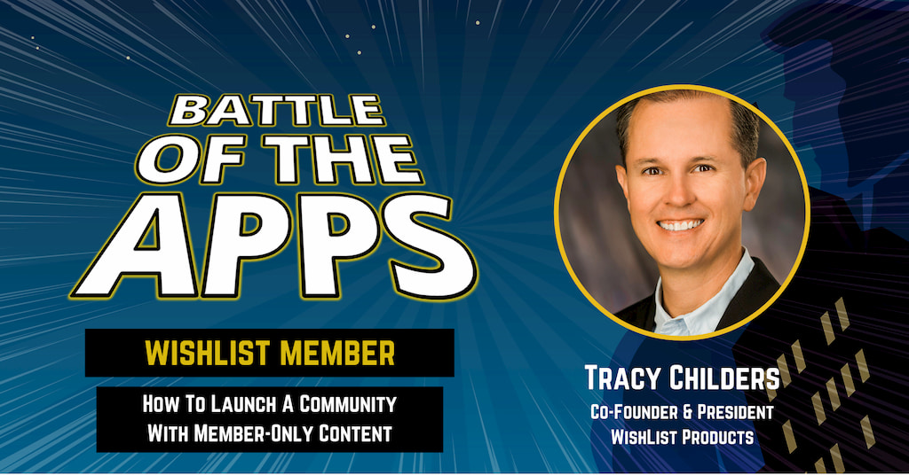 Tracy Childers Co-Founder and President of WishList Products on Battle of the Apps with Pascal Fintoni
