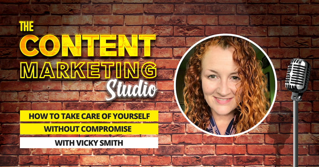 Vicky Smith from Taylored Fit Clinic on The Content Marketing Studio with Pascal Fintoni