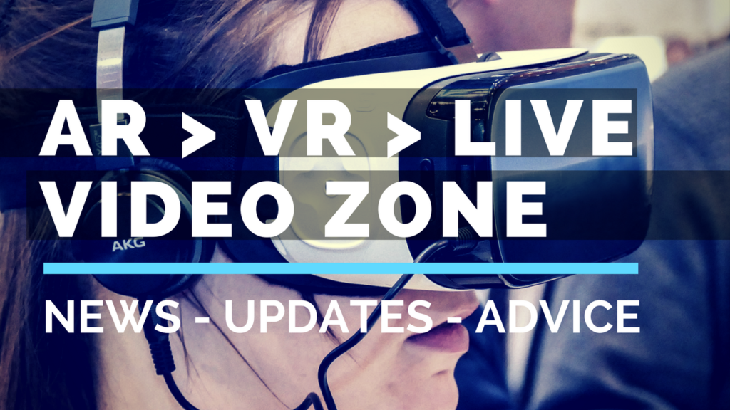 Coming Soon! AR VR LIVE Video Zone
